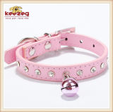 Small Pets (KC0061)를 위한 사랑스러운 Pet Leather Collar &Leashes/Collar