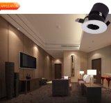 ホテル9W LEDの穂軸DownlightのためのDimmable 3000K Downlight