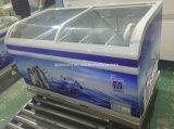 Congelatore commerciale della cassa della visualizzazione dell'isola della vetrina del refrigeratore del supermercato di Lintee