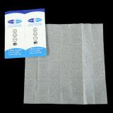 Los productos de cosmética desechables las toallitas húmedas o los tejidos de protección solar/toallas