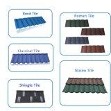 Dach-Material-Stein-überzogene Metallholz-Dach-Fliese
