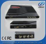 4 canales UHF RFID de largo alcance del lector fijo para el sistema de gestión de almacén