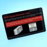 Roce contra el protector de la tarjeta de crédito Tarjeta de la señal del bloqueador de RFID