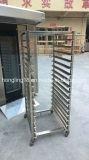 Horno rotatorio eléctrico del estante de la carretilla Tray/2 de la alta calidad 64 de Hongling