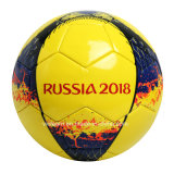 El algodón de encargo envolvió el balón de fútbol durable de 9 pulgadas