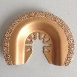 Láminas multi oscilantes de la herramienta de la lechada del carburo de Braized