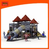 Theme Park Plastic Different Shape Attractive Outdoor Playground Equipment