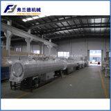 Tubo plástico del abastecimiento de agua del PE que hace la máquina