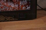 Insérer la chaufferette Bois-Brûlante avec l'écran