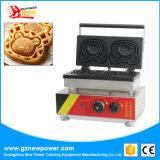 De commerciële Maker Winnie Waffle Making Machine van de Wafel van het Beeldverhaal