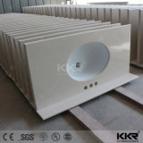 Kkr a fabricação personalizada de banho de pedra de quartzo vaidade topo