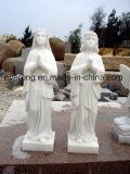 Scultura di Handcarved, scultura di pietra naturale, scultura umana & statua per il giardino