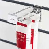 Prix en plastique Étiquette Overarm Porte-étiquette de prix Clip pour crochet d'écran