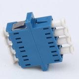 Sc-Type de quarte de LC adaptateur de fibre optique pour uni-mode ou à plusieurs modes de fonctionnement