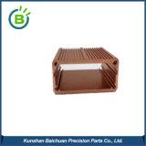 Il piccolo contenitore di alluminio impermeabile di metallo, muore la scatola di giunzione del contenitore di guarnizione del getto
