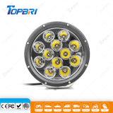 9-60V 9 polegadas LED REDONDO 120W Luz de Trabalho de Mineração de inundação