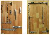A eficiência energética da madeira Alu-Solid Porta de vidro e Janela com tela de malha SS