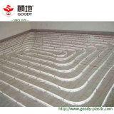 Pipe radiante et caractéristiques de PERT de chauffage d'étage