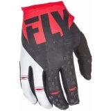 Fly Racing кинетических мужская Mx внедорожного перчатки черный и красный