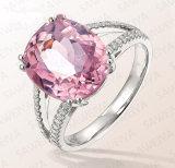 원석 & AAA 입방 지르콘 여자 결혼 반지를 가진 도매 형식 보석