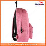 Bolso rosado del morral del recorrido de la escuela de la manera para la señora