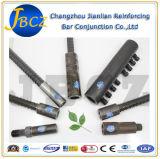 Changzhou Jianlian armaduras de aço Mecânica Vergalhão Splicing roscado do parafuso de conectar os acopladores da Luva