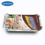 De Container van de Verpakking van het Voedsel van Embrossed van de Folie van het Aluminium van Recylcable