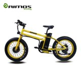 脂肪質のタイヤのUnfoldableの電気バイクの20インチの新しいモデル