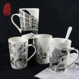 Ceramische Koppen van de Kop van de Thee van de Mok van de Koffie van het Ontwerp van China de Speciale Eenvoudige