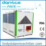 refrigerador de água de refrigeração ar de 170kw Indsutrial para a indústria de plásticos