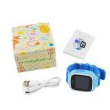 Q90 дети Часы с GPS сенсорный экран ребенка карты Google Sos кнопку Просмотр для ребенка фунта/GPS/WiFi Locato