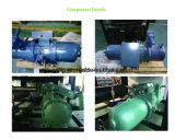 100HP 300kw 페인트 공장을%s 공기에 의하여 냉각되는 산업 물 나사 냉각장치 가격