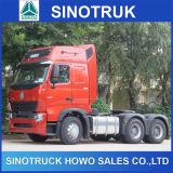 Sinotruk 10wheelsのトレーラーのトラクターのトラックHOWO A7 6X4のトラクターのトラック