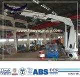 BV, CCS, ABS аттестовал кран заграждения 1t/10m гидровлический телескопичный Kunckle
