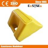 Gummirad-Keile für LKW, gelber Gummireifen-Keil