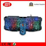Уникально комплект клавиатуры & мыши разыгрыша компьютера USB панели комбинированный