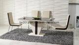 Твердые обеденный стол и металлической обеденный стул (КТ-147 CY-101) Мебель серии