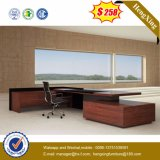 Fashion New Design Wooden Executive Table Mobilier de bureau en mélamine (HX-AD813)
