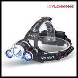 Heiße Verkauf im Freienc$li-ionbatterie-kampierender Scheinwerfer/Hauptlicht des Senor-LED