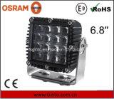 正方形の高い内腔の出力80W LED働くライト6.8inch (1007Q)
