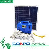 Sg1230W 30W/12V, DC (système d'éclairage solaire portable avec radio, fonction lecteur MP3)
