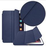 Caso esperto de venda quente da tampa da aleta do couro do plutônio para o ar 2 do iPad