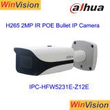 Dahua 200m IRの間隔12Xのズームレンズ2MP 1080Pの弾丸Poe IPのカメラIpcHfw5231e Z12
