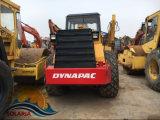 Verwendetes 15 Tonne Dynapac Vibrative Schmutz-Verdichtungsgerät der Rollen-Ca30d