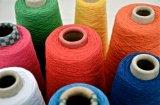 Filo di cotone riciclato 8/2 di filato di colore del filato del doppio del filato di torsione del Ne