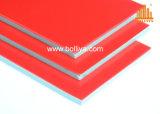 El panel compuesto de aluminio de la señalización de la mirada del granito de piedra de mármol del grano para hacer publicidad