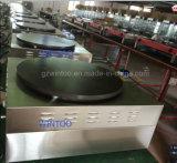 Macchina elettrica del Crepe dell'acciaio inossidabile del doppio della vaschetta commerciale del riscaldamento (ECM-2)