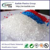 PC Chemical Granulates Plastic Material White Color Masterbatch