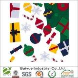 크리스마스 훈장 기술은 100%년 Eco 친절한 폴리에스테에서 느꼈다
