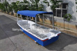 Liya 5.8m Boot van Panga van de Vissersboot van de Vissersboot van de Glasvezel de Rode